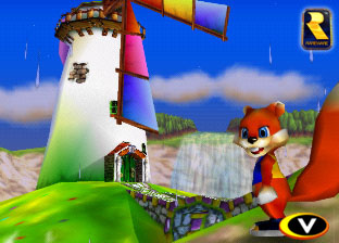 Taken from game footage from Twelve Tales: Conker 64