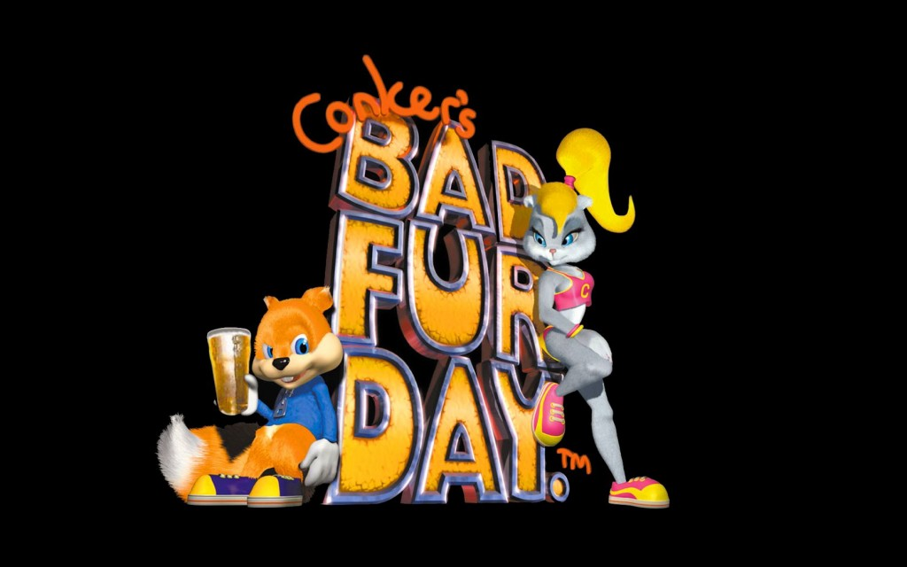 Conker's Bad Fur Day Logo
