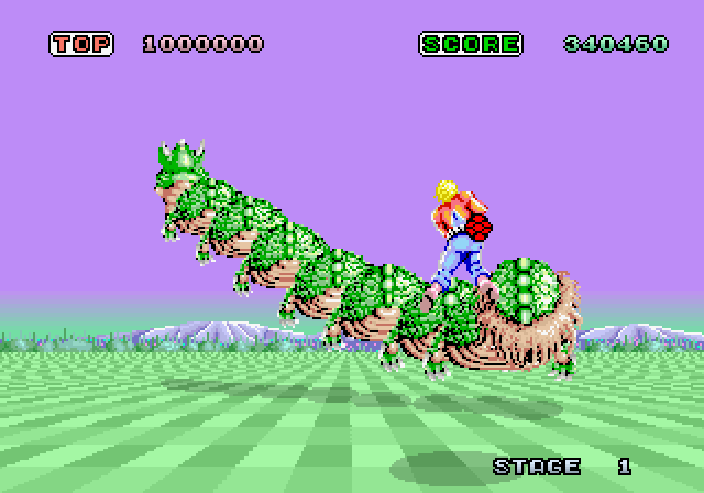 space harrier 2 The List: Bayonetta