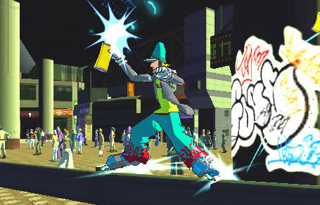 Corn Grinding jet set radio future 13934749 455 292 Review: Jet Set Radio Future (*** stars)