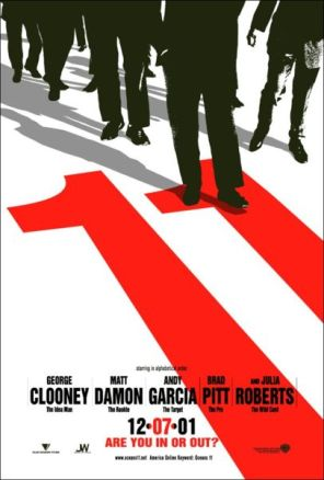 Oceans Eleven 2001 Poster Monday Update   Week of October 1st, 2012