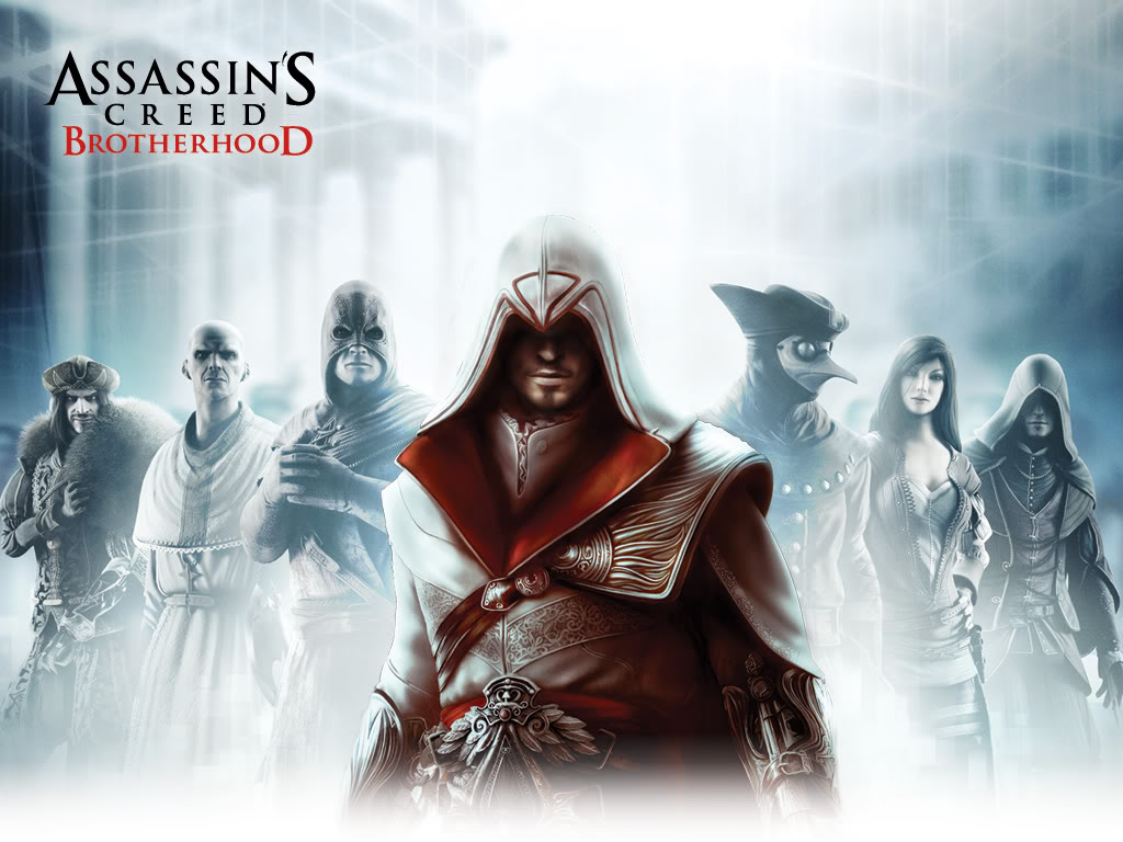 AssassinsCreedBrotherhoodGroupShot Review: Assassins Creed   Brotherhood (** stars)