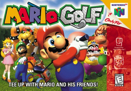 Mario Golf box Monday Update   Week of October 22, 2012