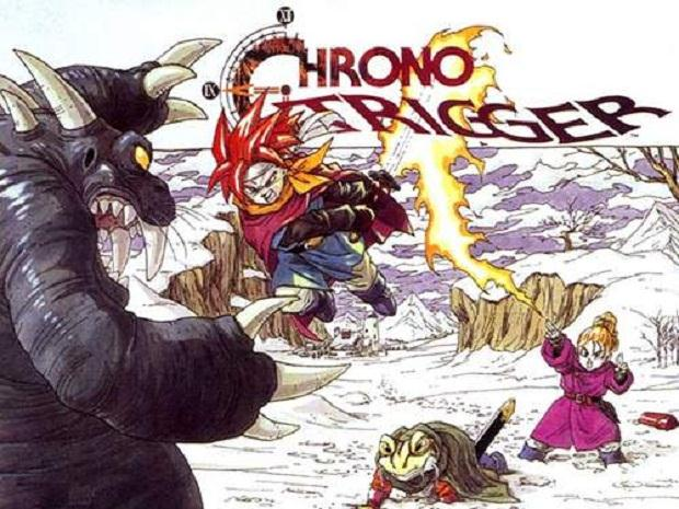 Chrono-Trigger SNES Box Art