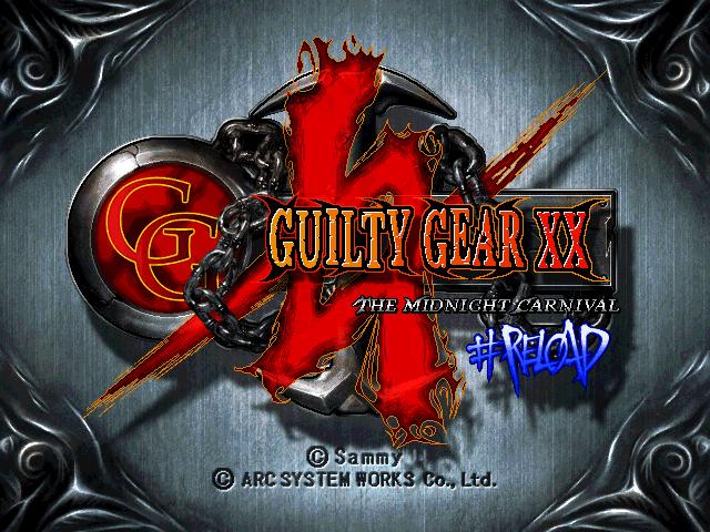 Guilty GearX X Reload