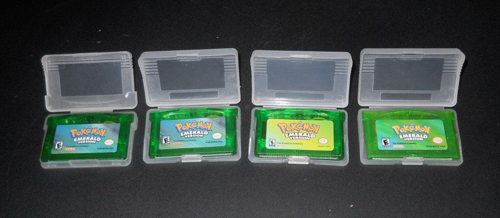 Genuine pokemon emerald cartridge