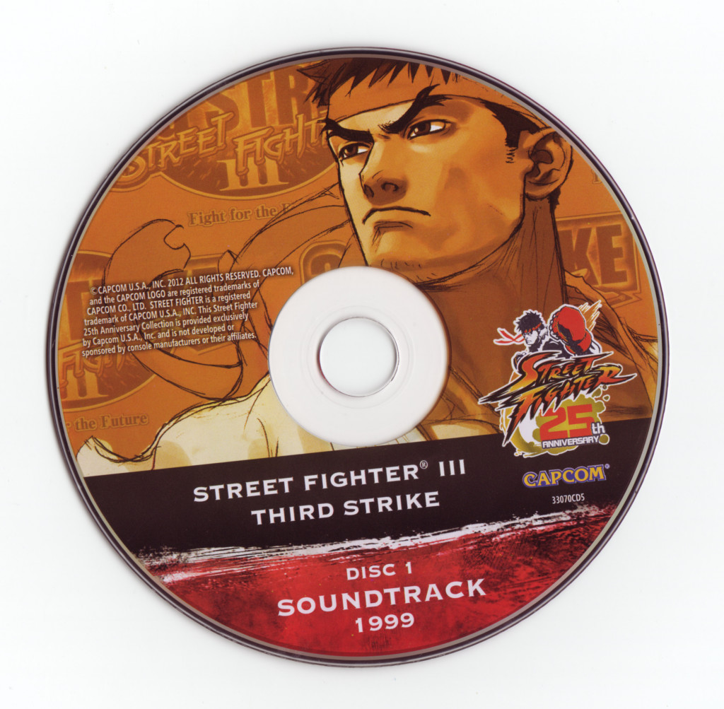 Street Fighter III Third Strike Soundtrack
