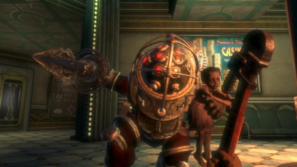 Bioshock Big Daddy Screenshot