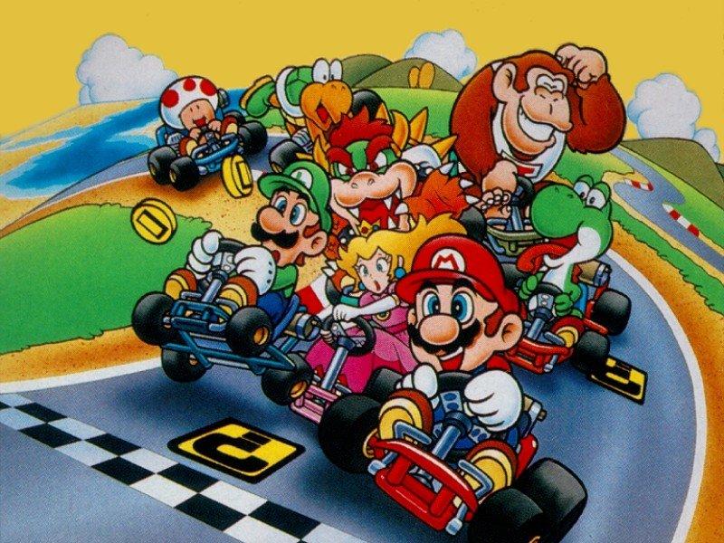 Mario Kart USA Version