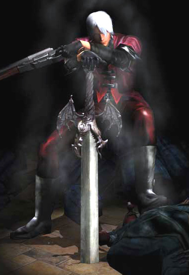 Somehow, Capcom doesn't think this Dante's cool enough for the modern world.