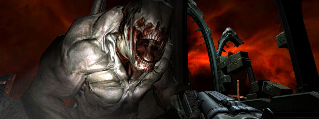 Not that Doom 3 doesn't scare me to death half the time.