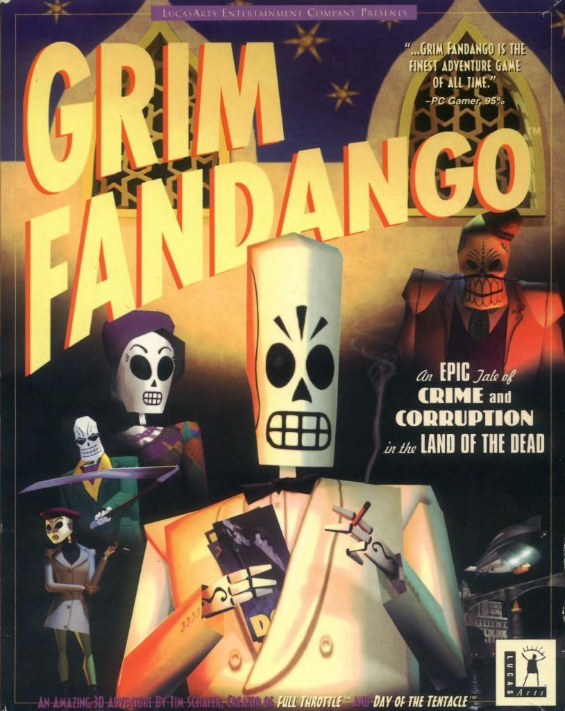 Grim-Fandango Cover Art