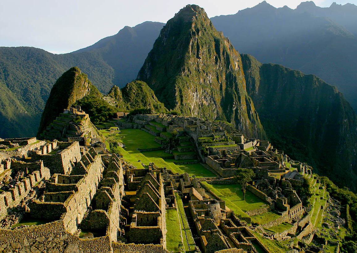 Well, not quite Machu Picchu, but you get the idea.