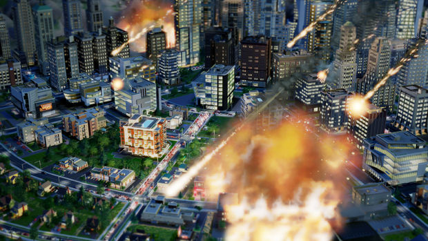 SimCity Disasters Meteor 620x Simcity Simulations   The Insufficiency of the God Game