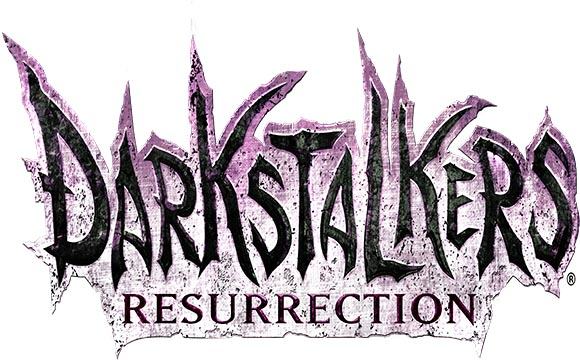 darkstalkers resurrection logo white Darkstalkers and Resurrection