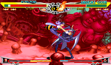 Vampire Savior Darkstalkers Fetus of God Jedah Q-Bee