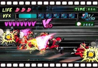 Viewtiful Joe Gameplay Screenshot