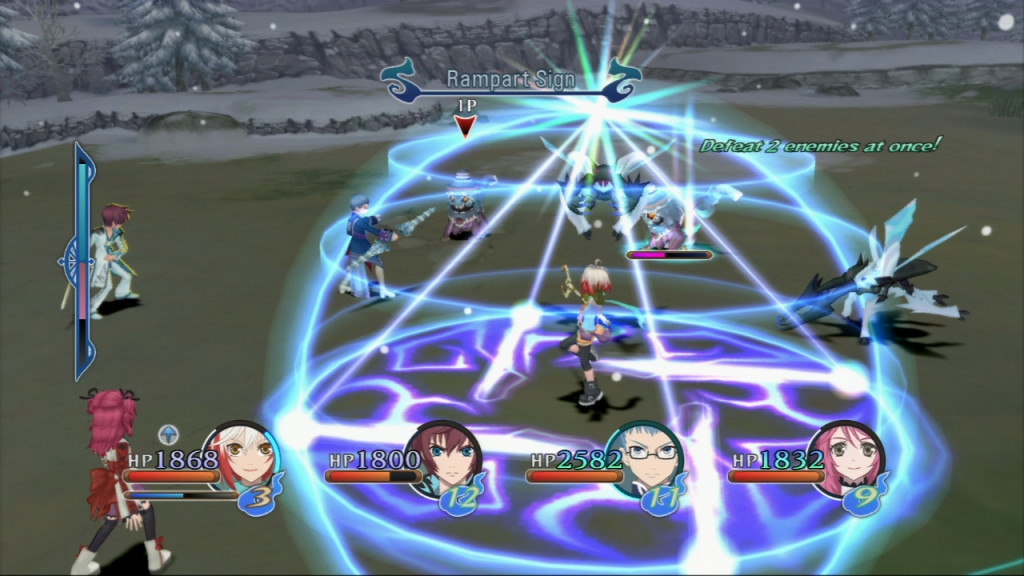 Tales of Graces F Battle