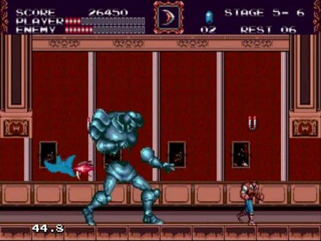 Castlevania Bloodlines Screenshot