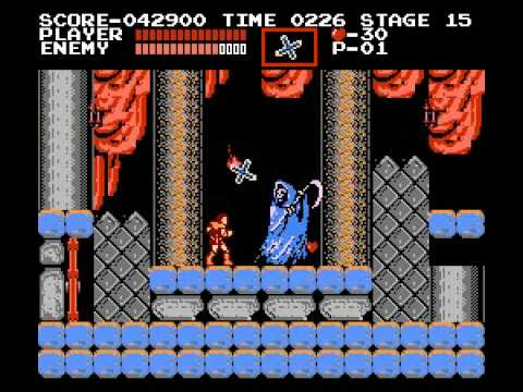 Castlevania NES Death Boss Fight