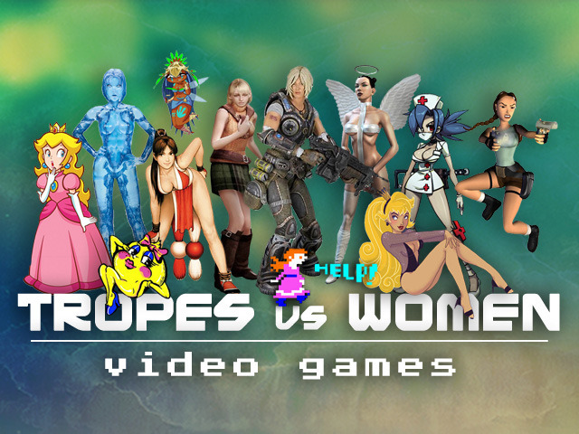 Tropes vs. Women in Video Games Logo Thing
