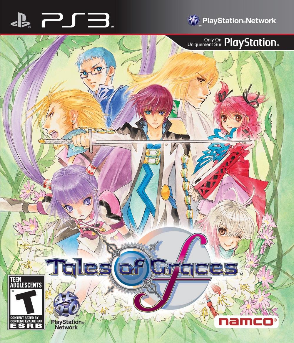 Tales of Graces F PS3 North American Box Art