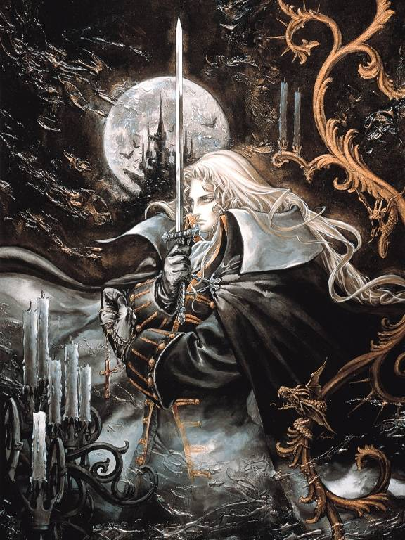 Castlevania Symphony of the Night Alucard