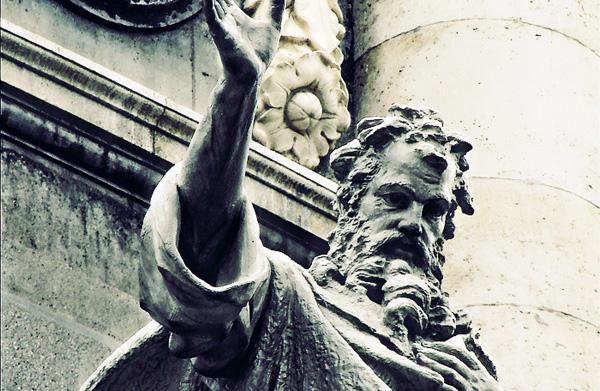 St.-Irenaeus Statue