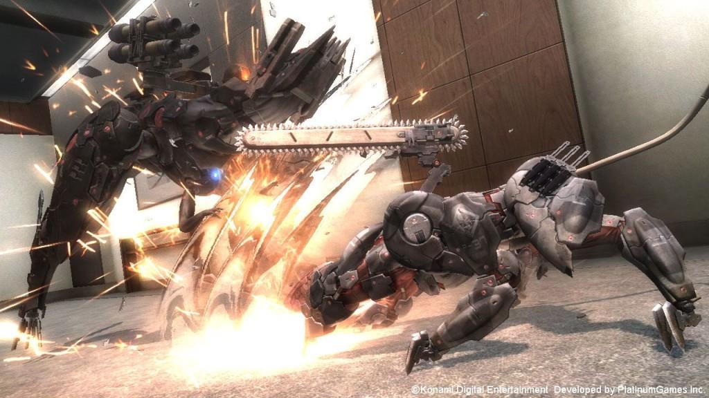 MGR Blade Wolf DLC Screenshot