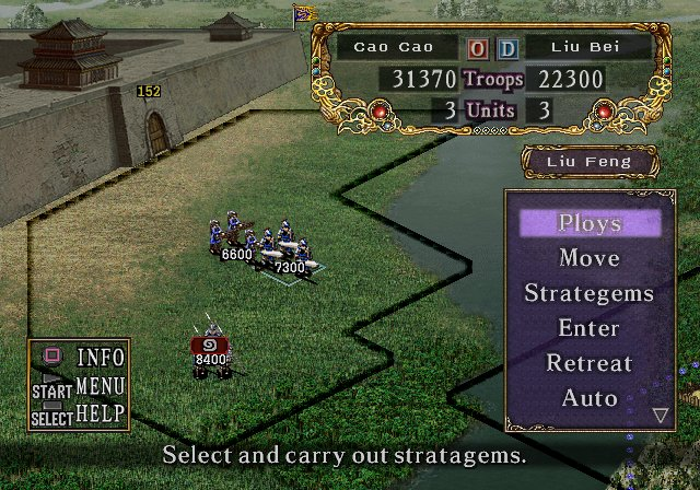 Romance of the Three Kingdoms VIII Battle