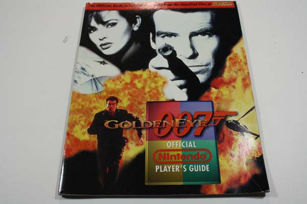 Goldeneye Nintendo Official Player's Guide