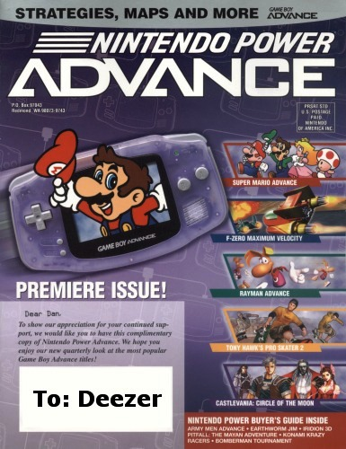 Nintendo Power Advance 1