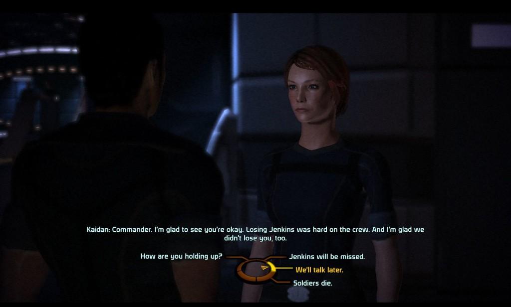 Mass Effect Dialogue Tree