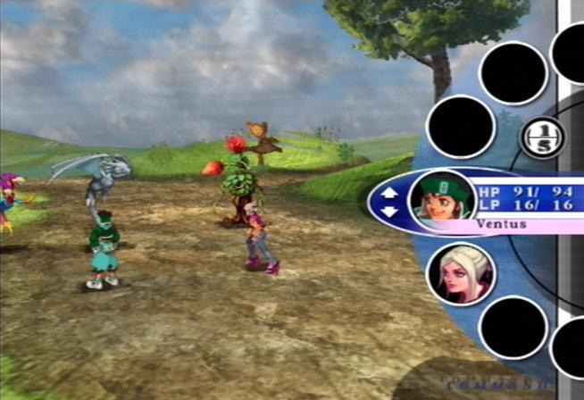 Unlimited Saga Battle Scene