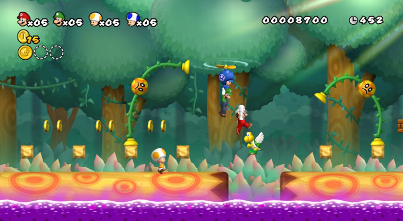 Review: New Super Mario Bros  Wii (*** stars)