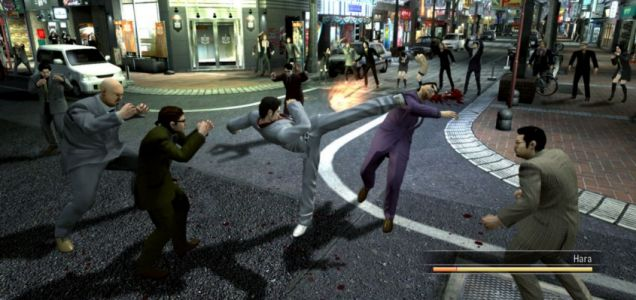 Yakuza Fighting