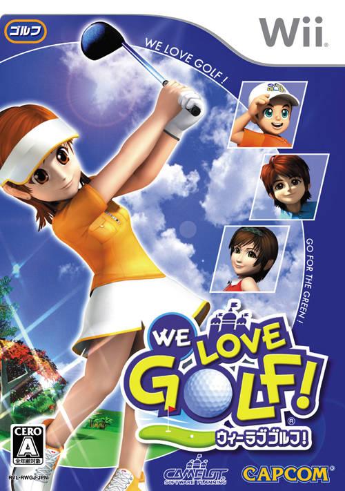We Love Golf Japanese Box Art