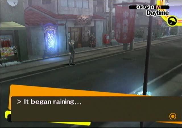 Persona 4 Raining