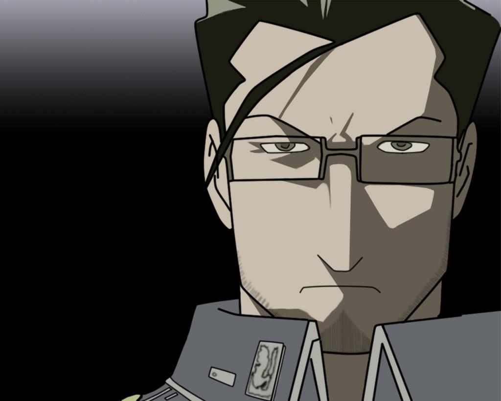 Vector maes hughes - Fullmetal Alchemist