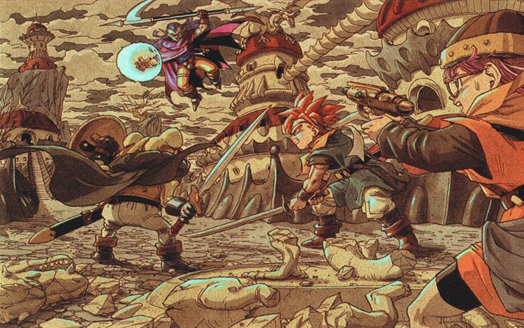 Chrono Trigger Artwork Magu