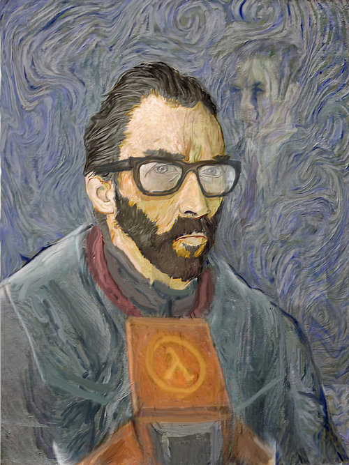 Gordon Freeman Van Gogh