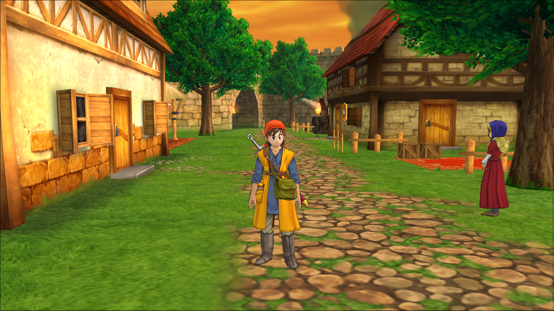 Dragon Quest VIII Village