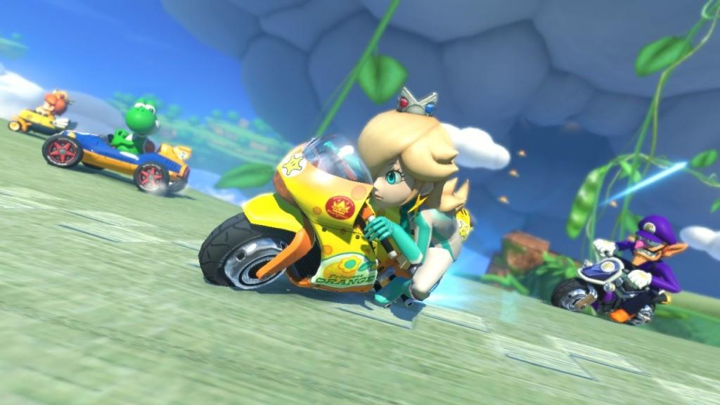 Mario kart 8 rosalina bike