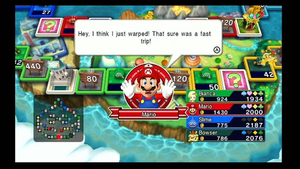 Fortune Street Mario