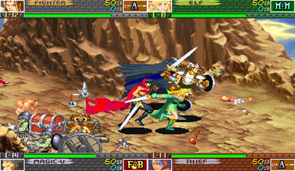 Shadow over Mystara Screenshot
