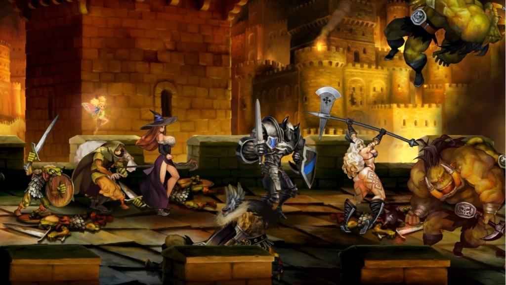 Dragon's Crown screen