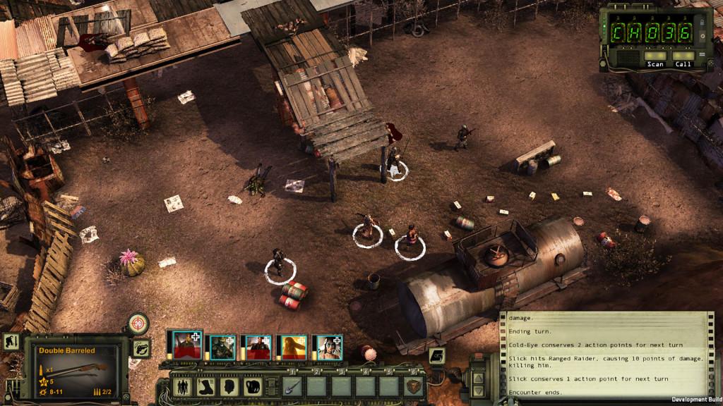 Wasteland 2 Combat