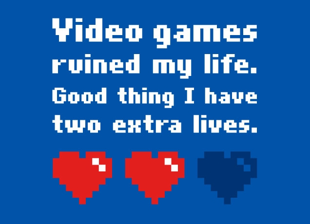 Video Games Hearts