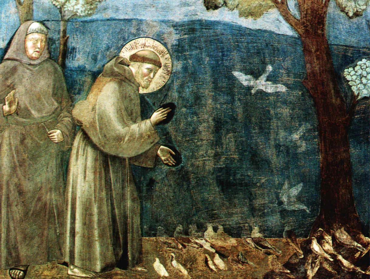 St.FrancisPreachingtotheBirds_Giotto