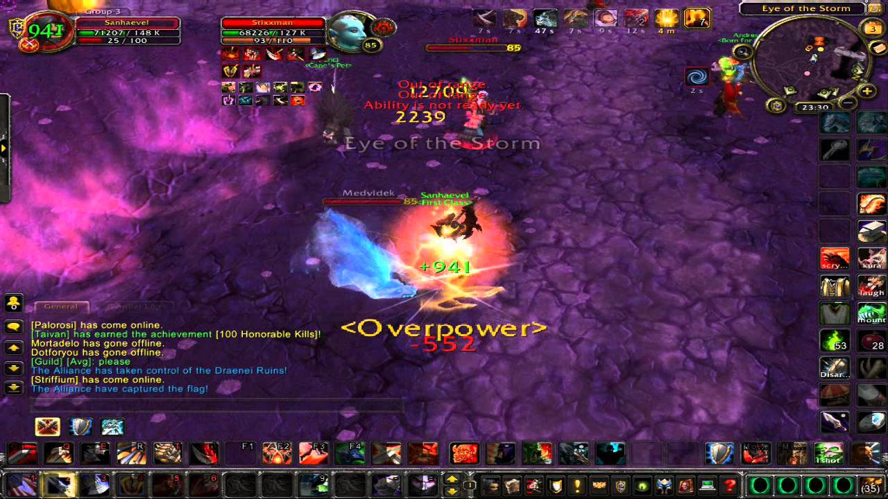 World of WarCraft PvP – Negatives